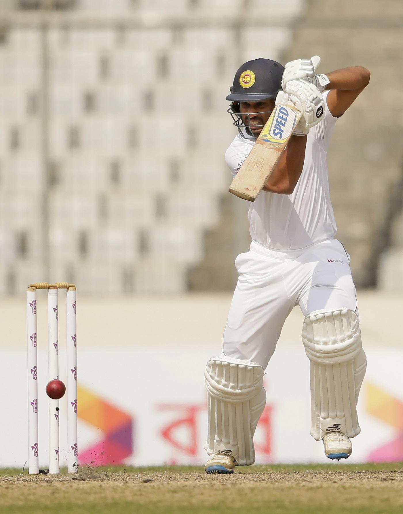 Dananjaya strikes bundle Bangladesh out for 110