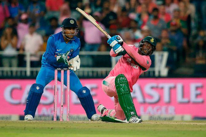 Andile Phehlukwayo South Africa India 5th ODI Port Elizabeth cricket
