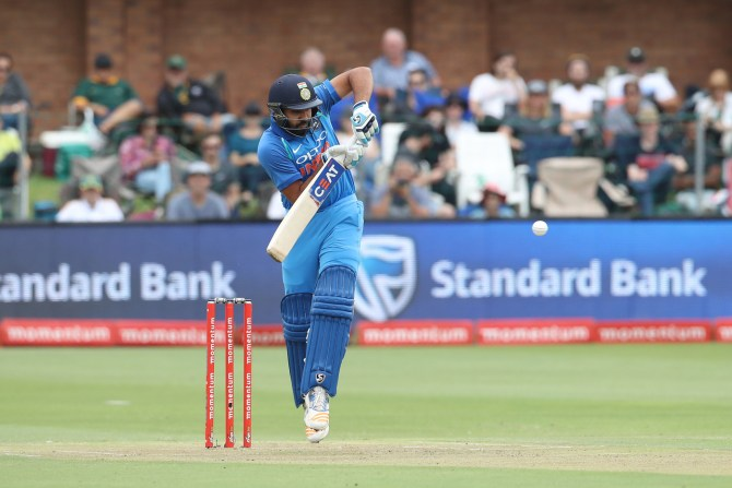 Rohit Sharma 115 South Africa India 5th ODI Port Elizabeth cricket