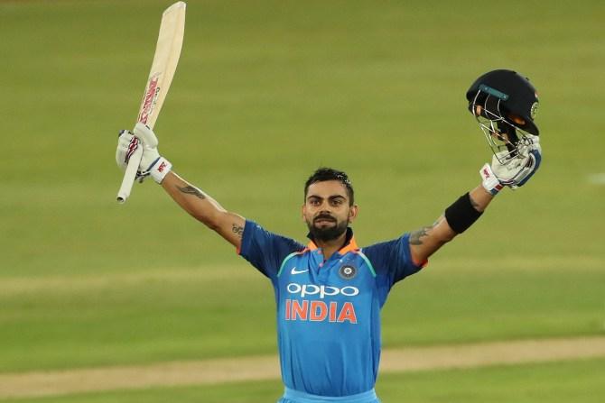 Virat Kohli 129 South Africa India 6th ODI Centurion cricket