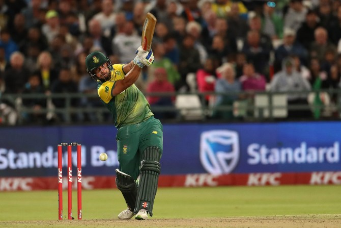 Christiaan Jonker 49 South Africa India 3rd T20 Cape Town cricket