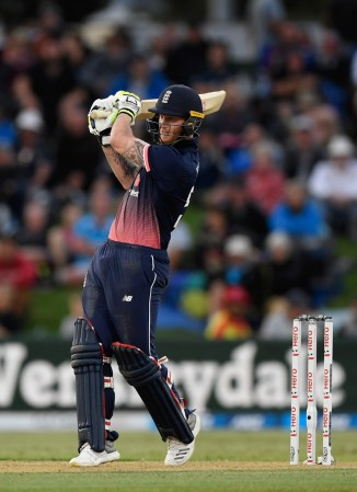 Ben Stokes 63 not out two wickets New Zealand England 2nd ODI Mount Maunganui cricket