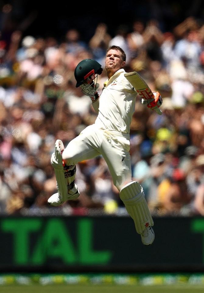 David Warner Test cricket Australia