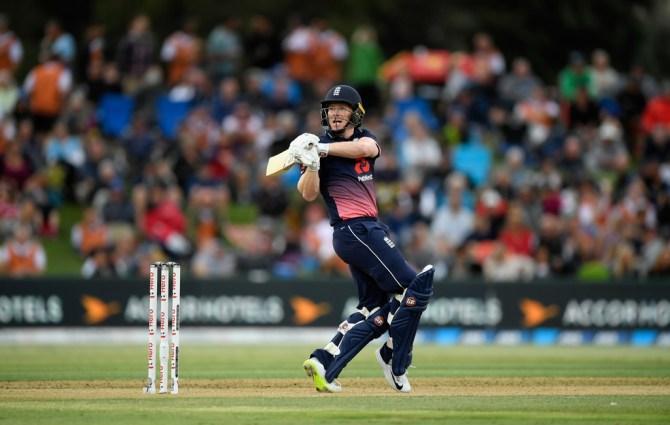 Eoin Morgan 62 New Zealand England 2nd ODI Mount Maunganui cricket