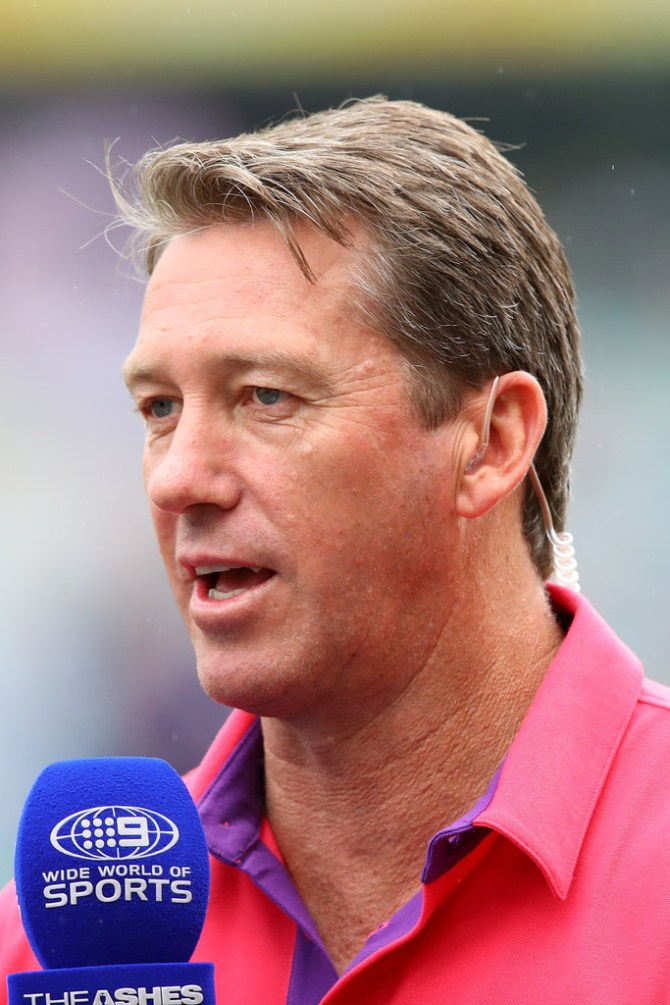 Glenn McGrath England favourites win 2019 World Cup Australia cricket