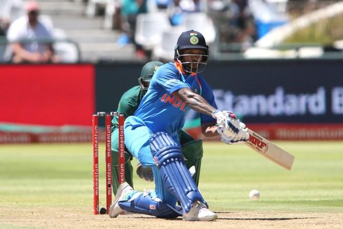 Shikhar Dhawan 76 South Africa India 3rd ODI Cape Town cricket