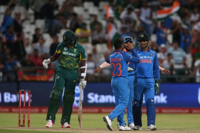 Virat Kohli Yuzvendra Chahal Kuldeep Yadav India South Africa 2019 World Cup cricket
