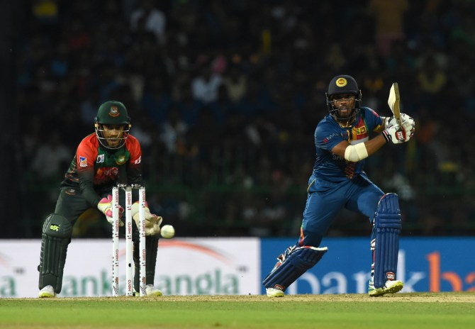 Kusal Mendis 57 Sri Lanka Bangladesh 3rd Match Nidahas Trophy Colombo cricket