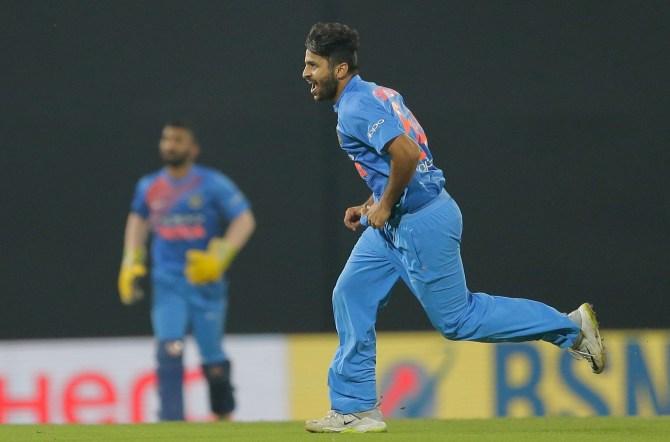 Shardul Thakur four wickets Sri Lanka India Nidahas Trophy Colombo cricket