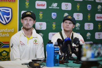 Steve Smith Cameron Bancroft David Warner leave South Africa ball tampering Australia cricket