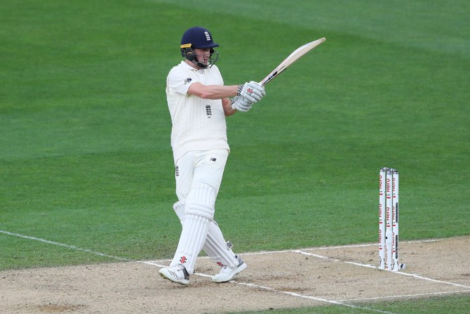 Chris Woakes 52 New Zealand England 1st Test Day 5 Auckland cricket