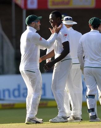 Kagiso Rabada six wickets South Africa Australia 2nd Test Day 4 Port Elizabeth cricket