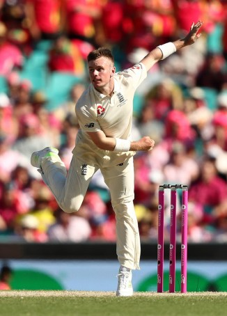 Mason Crane stress fracture lower back ruled out Test series New Zealand England cricket