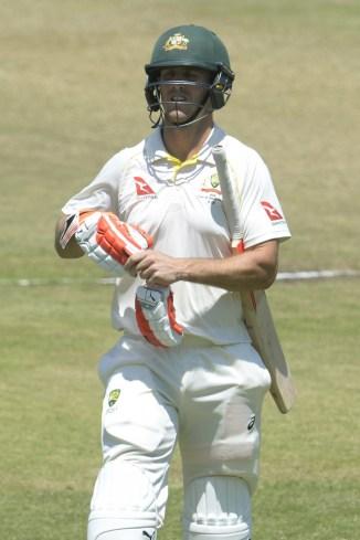 Mitchell Marsh fined swearing Kagiso Rabada South Africa Australia 2nd Test Day 4 Port Elizabeth cricket