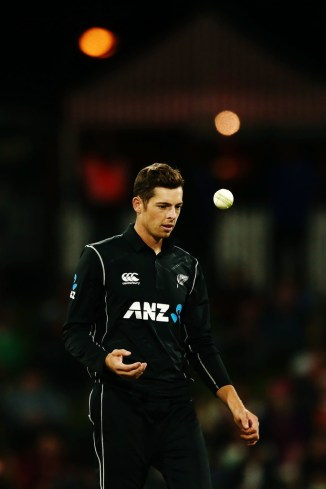Mitchell Santner knee injury surgery New Zealand cricket