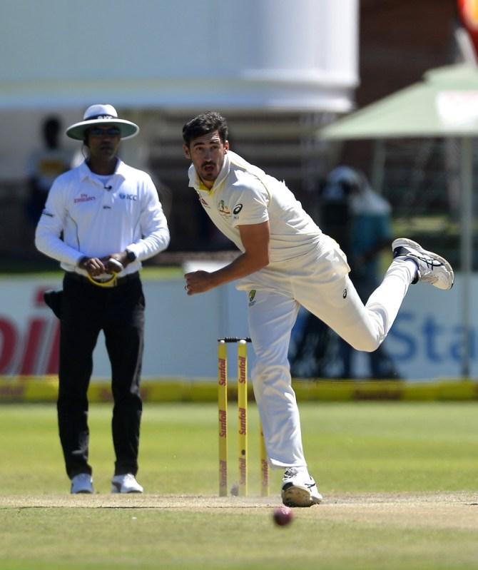 Mitchell Starc calf injury Australia South Africa Test series cricket