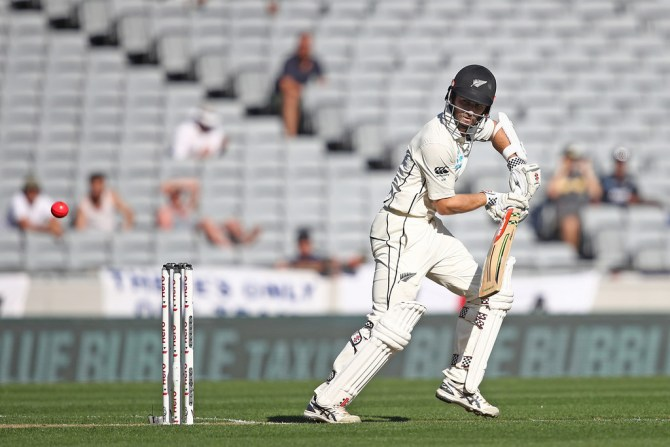 Kane Williamson 91 New Zealand England 1st Test Day 1 Auckland cricket