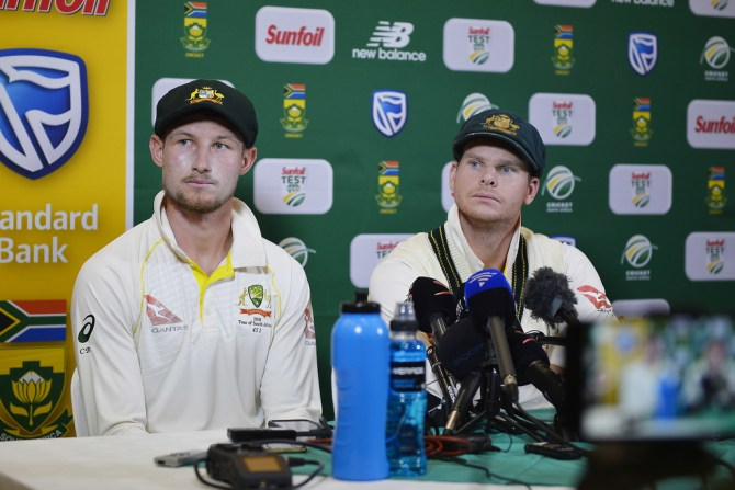 James Sutherland Cricket Australia investigation ball tampering Cameron Bancroft Steve Smith South Africa Australia 3rd Test Day 3 Cape Town cricket