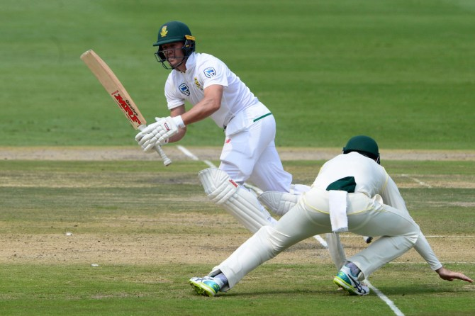 AB de Villiers 69 South Africa Australia 4th Test Day 1 Johannesburg cricket