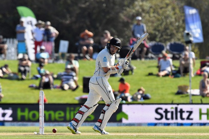 Tom Latham 83 New Zealand England 2nd Test Day 5 Christchurch cricket