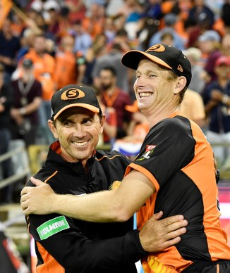 Adam Voges replaces Justin Langer as head coach of Western Australia and Perth Scorchers Big Bash League BBL Australia cricket