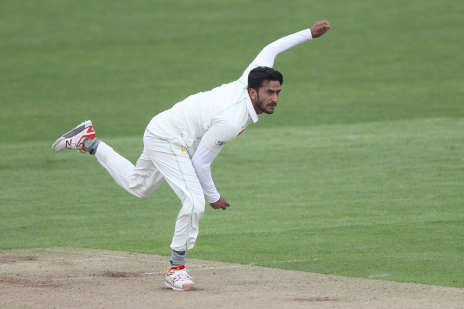 Hasan Ali injured hand but still available for selection for first Test against England Lord's Pakistan cricket