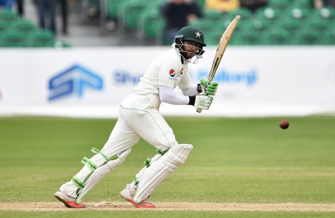 Imam-ul-Haq 74 not out Ireland Pakistan Only Test Day 5 Dublin cricket