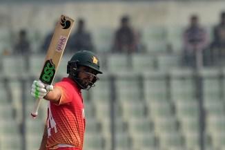 Sikandar Raza Brendan Taylor left out Zimbabwe squad T20 tri-series Australia Pakistan cricket
