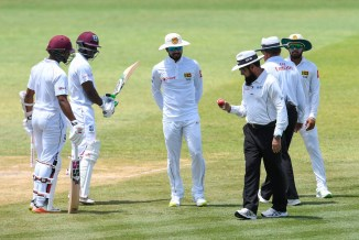 Dinesh Chandimal denies ball tampering charge ICC hearing after 2nd Test West Indies St Lucia Sri Lanka cricket