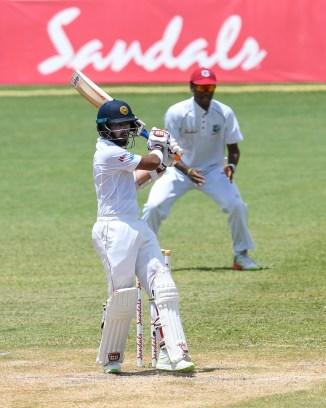 Kusal Mendis 87 West Indies Sri Lanka 2nd Test Day 4 St Lucia cricket
