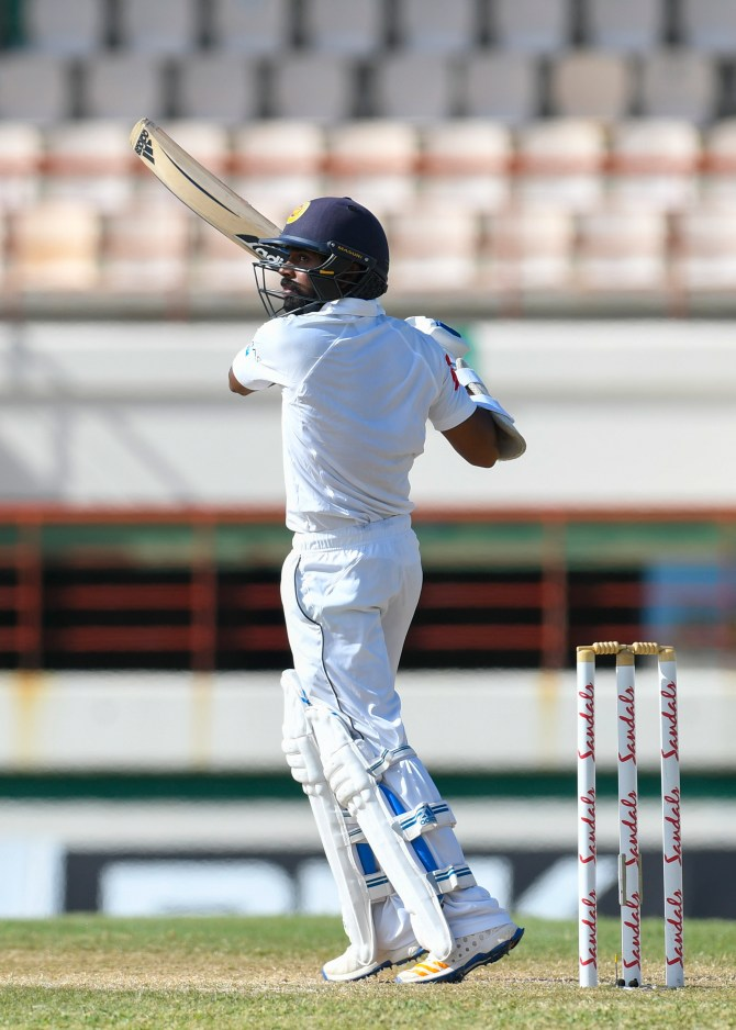 Niroshan Dickwella 62 West Indies Sri Lanka 2nd Test Day 4 St Lucia cricket