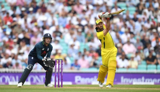 Glenn Maxwell 62 England Australia 1st ODI The Oval cricket