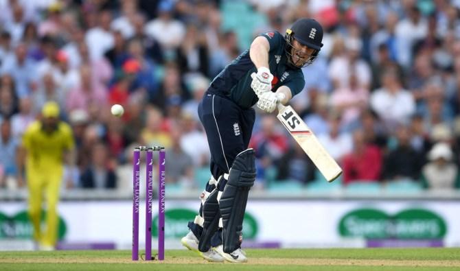 Eoin Morgan 69 England Australia 1st ODI The Oval cricket