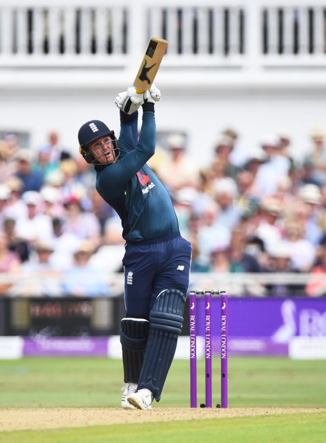 Jason Roy 82 England Australia 3rd ODI Nottingham cricket