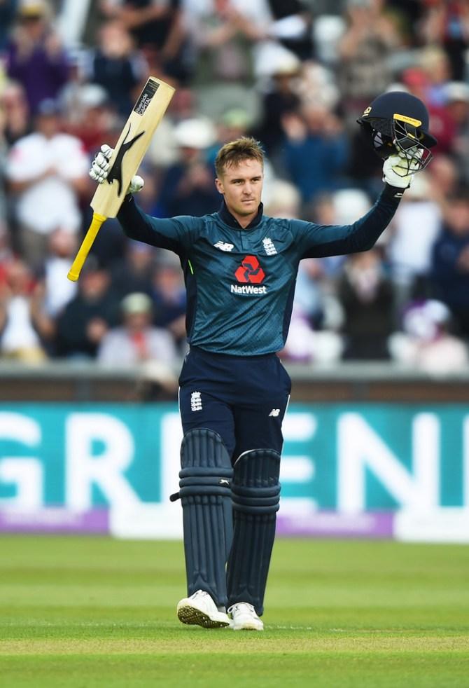 Jason Roy 101 England Australia 4th ODI Durham cricket