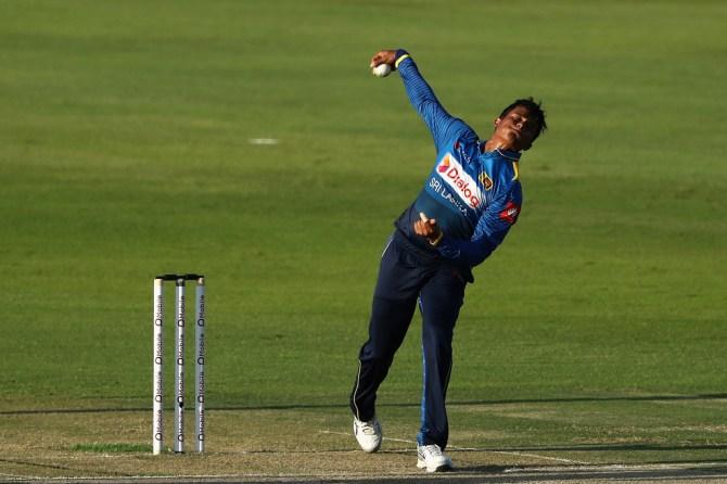 Jeffrey Vandersay sent home West Indies conduct violated player contract Sri Lanka cricket