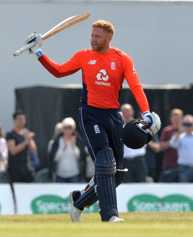 Jonny Bairstow 105 Scotland England Only ODI Edinburgh cricket