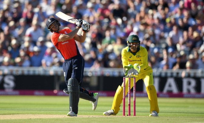 Jos Buttler 61 England Australia Only T20 Edgbaston cricket