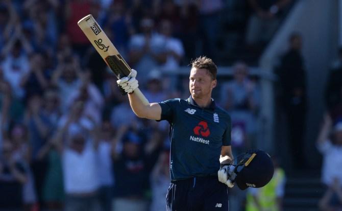 Jos Buttler 110 not out England Australia 5th ODI Manchester cricket