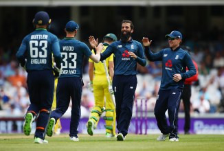 Moeen Ali three wickets England Australia 1st ODI The Oval cricket
