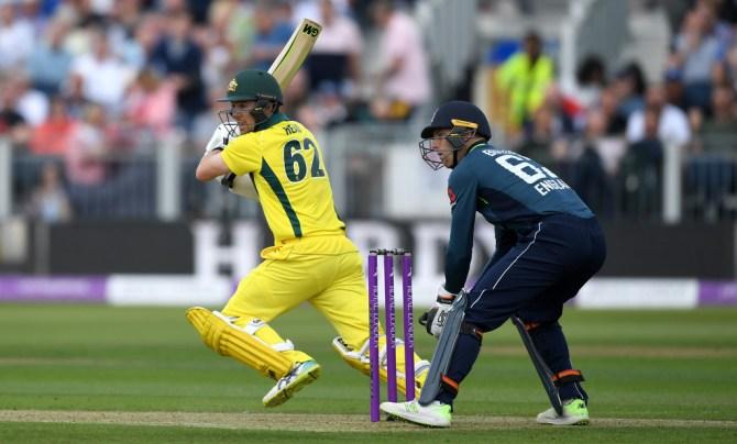 Travis Head 63 England Australia 4th ODI Durham cricket