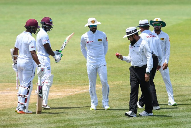 Dinesh Chandimal Chandika Hathurusingha Asanka Gurusinha banned four ODIs conduct contrary spirit of the game ICC Sri Lanka cricket