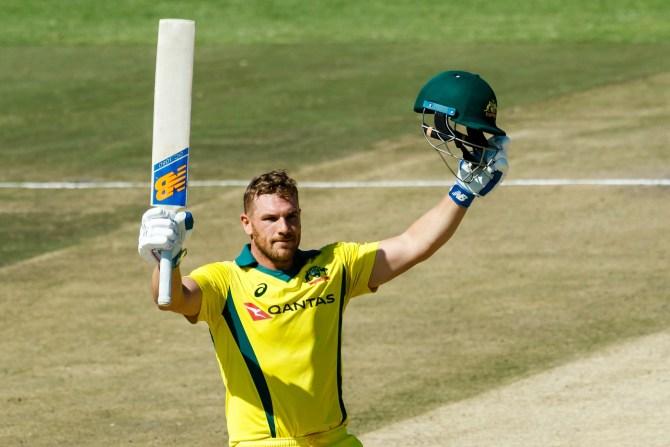Aaron Finch 172 Zimbabwe Australia T20 tri-series 3rd Match Harare cricket