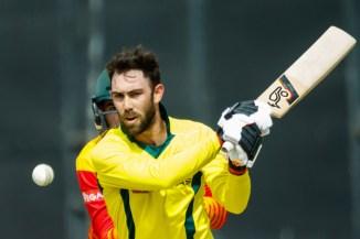 Glenn Maxwell 56 Zimbabwe Australia T20 tri-series Harare cricket