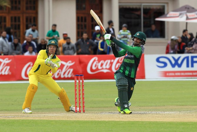 Fakhar Zaman 91 Pakistan Australia T20 tri-series final Harare cricket