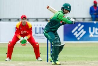 Fakhar Zaman 117 not out Zimbabwe Pakistan 2nd ODI Bulawayo cricket