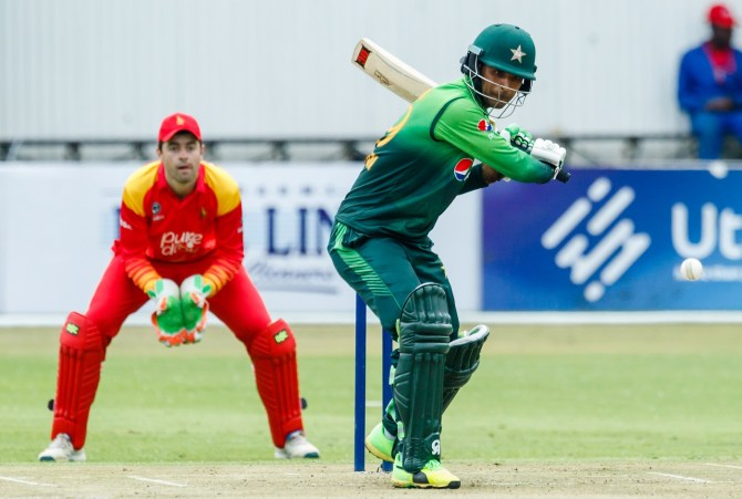 Fakhar Zaman 210 not out Zimbabwe Pakistan 4th ODI Bulawayo cricket