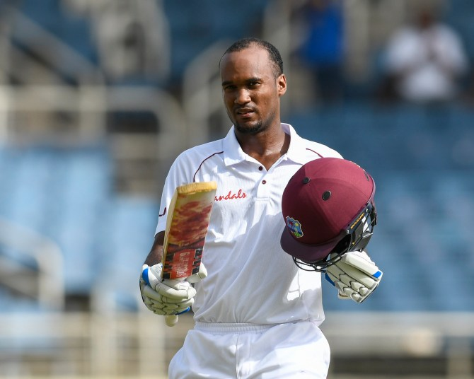 Kraigg Brathwaite 110 West Indies Bangladesh 2nd Test Day 1 Jamaica cricket