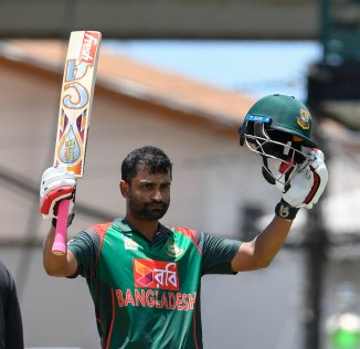Tamim Iqbal 103 West Indies Bangladesh 3rd ODI St Kitts cricket