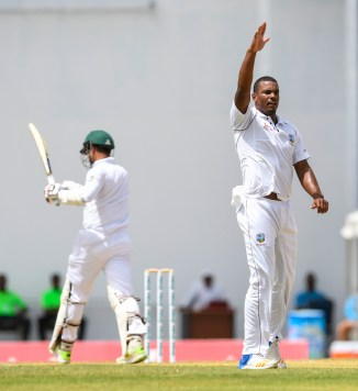 Shannon Gabriel five wickets West Indies Bangladesh 1st Test Day 3 Antigua cricket